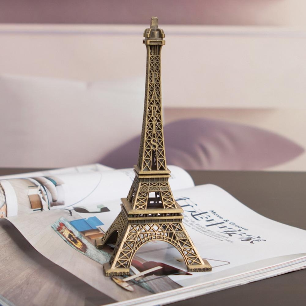 Online Get Cheap Eiffel Tower Decor Aliexpress | Alibaba Group In Eiffel Tower Metal Wall Art (View 11 of 20)