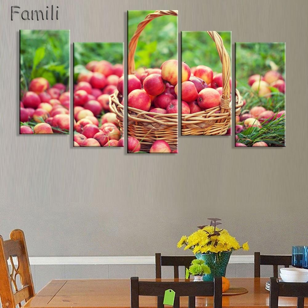 Online Get Cheap Food Decoration Pictures  Aliexpress With Matching Canvas Wall Art (Image 8 of 20)