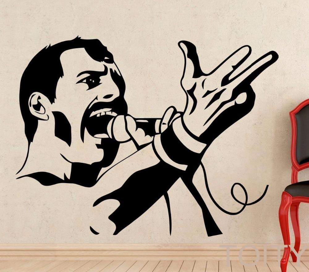 Online Get Cheap Freddie Mercury Art  Aliexpress | Alibaba Group With Regard To Freddie Mercury Wall Art (Image 18 of 20)