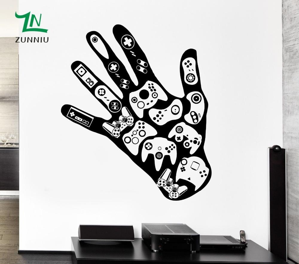 Online Get Cheap Gamer Art  Aliexpress | Alibaba Group Within Video Game Wall Art (Image 12 of 20)