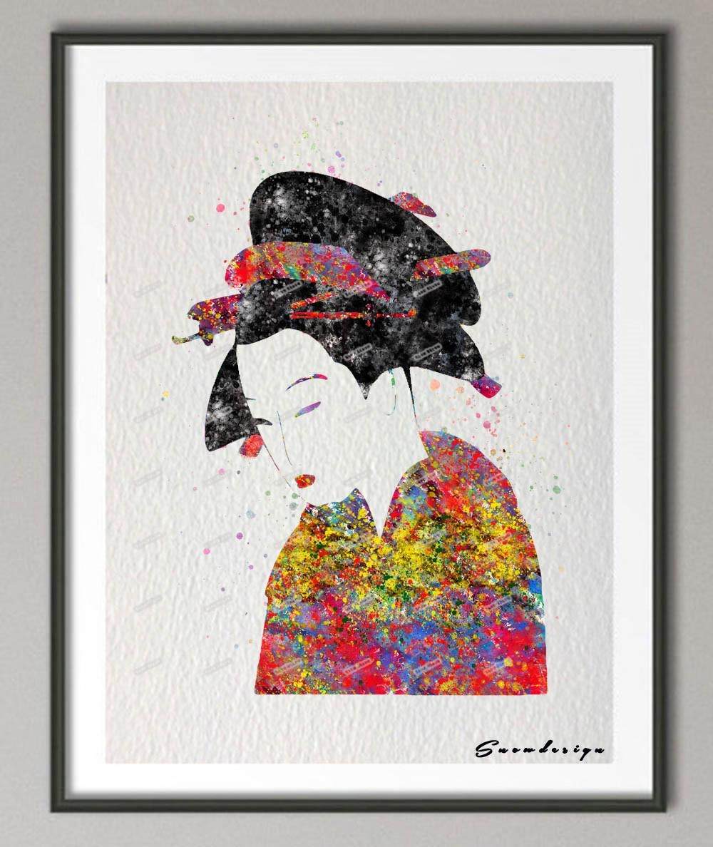 Online Get Cheap Geisha Art Prints  Aliexpress | Alibaba Group Intended For Geisha Canvas Wall Art (Image 12 of 20)