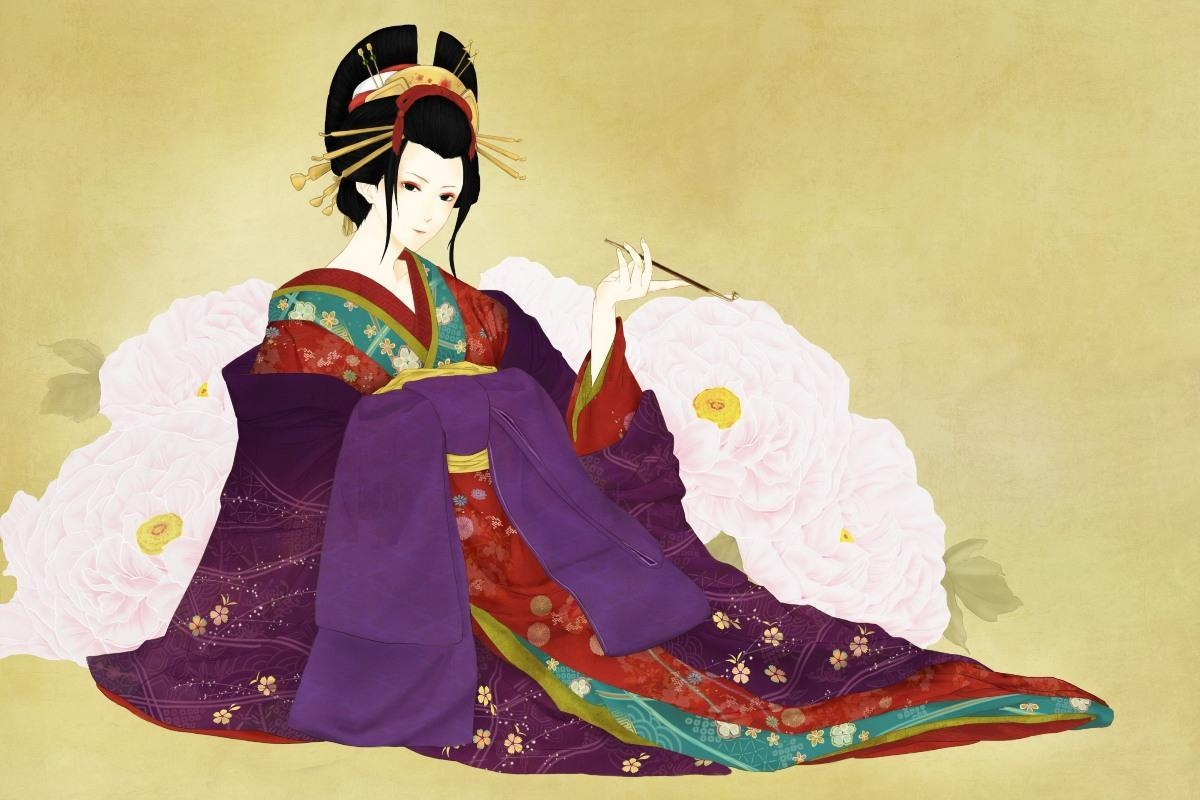 Online Get Cheap Geisha Art Prints  Aliexpress | Alibaba Group Within Geisha Canvas Wall Art (Image 13 of 20)