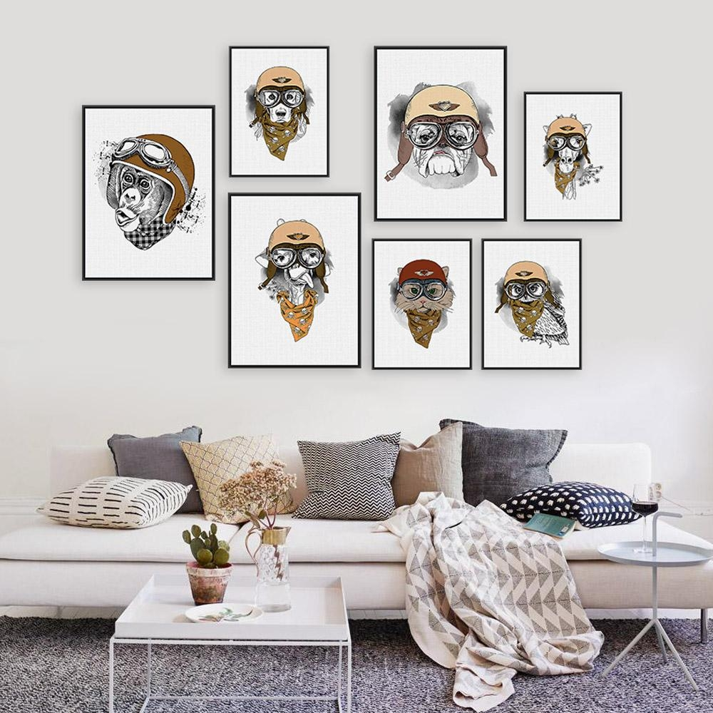 Online Get Cheap Giraffe Framed Art Aliexpress | Alibaba Group With Regard To Owl Framed Wall Art (View 6 of 20)