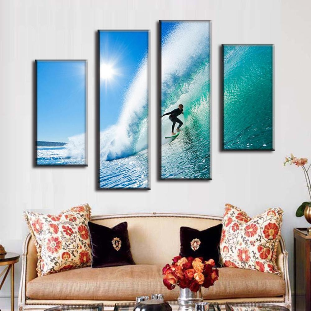 Online Get Cheap Hawaii Art Paintings Aliexpress | Alibaba Group Within Hawaiian Wall Art Decor (View 9 of 20)