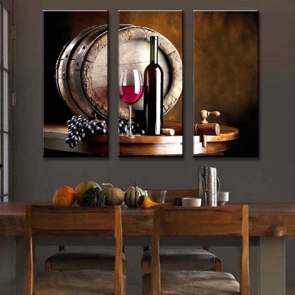 Online Get Cheap Hd Restaurants  Aliexpress | Alibaba Group Intended For Wall Art For Bar Area (Image 13 of 20)