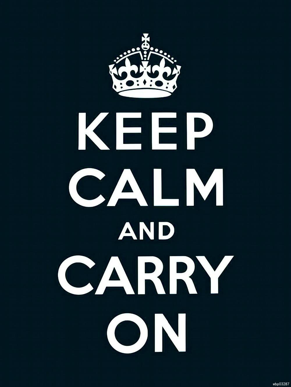 Online Get Cheap Keep Calm Carry On Wall Art  Aliexpress Throughout Keep Calm And Carry On Wall Art (Image 18 of 20)