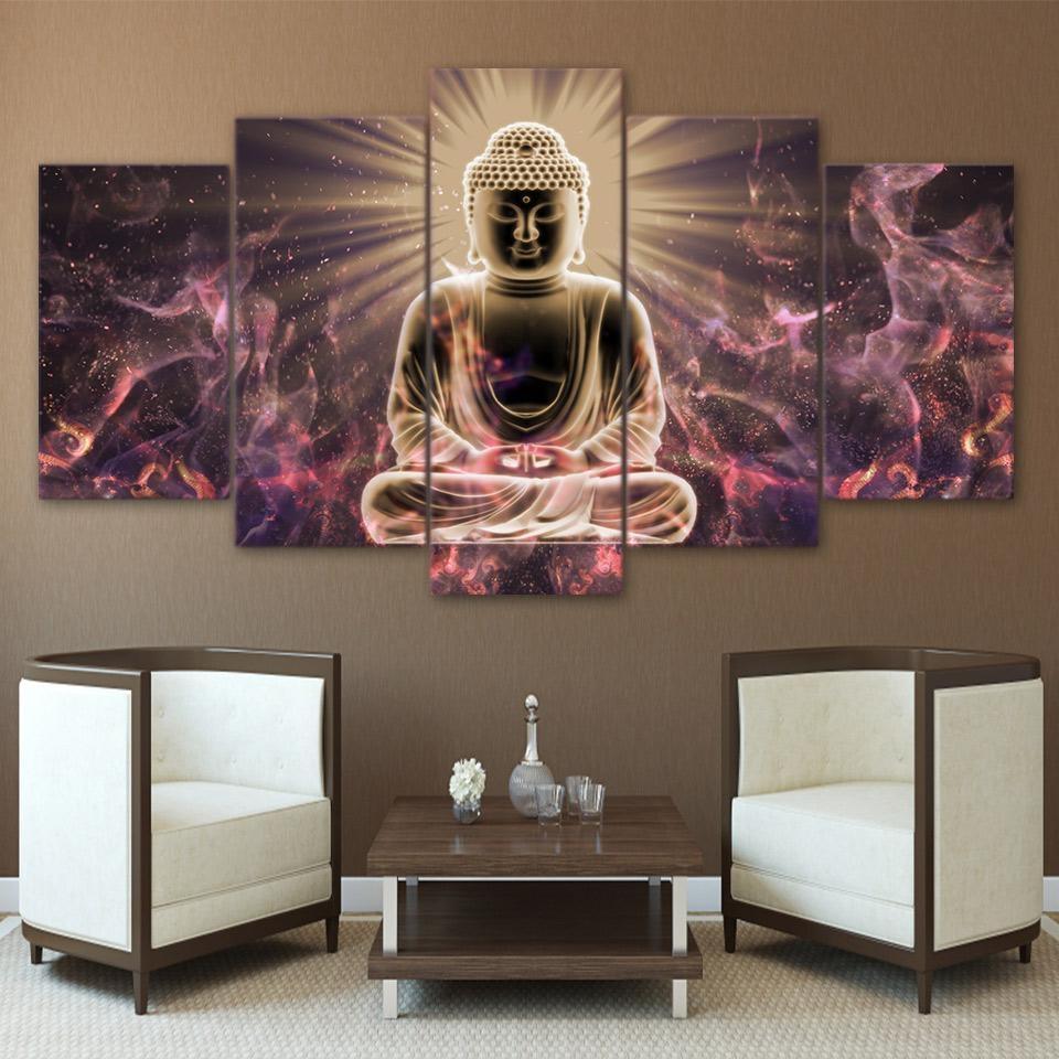 Online Get Cheap Large Buddha Wall Art  Aliexpress   Alibaba Group Pertaining To Large Buddha Wall Art (Image 17 of 20)
