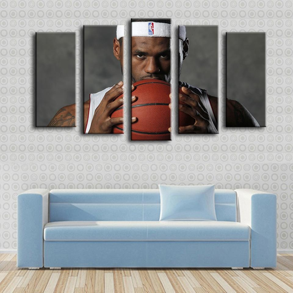 Online Get Cheap Lebron Nba  Aliexpress | Alibaba Group Regarding Nba Wall Murals (Image 12 of 20)