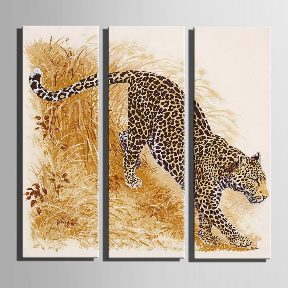 Online Get Cheap Leopard Print Home Decor Aliexpress With Regard To Leopard Print Wall Art (View 19 of 20)