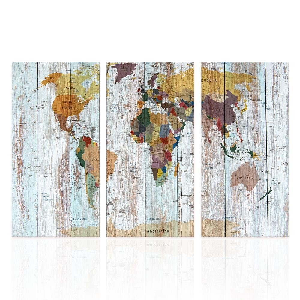 Online Get Cheap Map Wall Art  Aliexpress | Alibaba Group With Map Wall Art (Image 16 of 20)