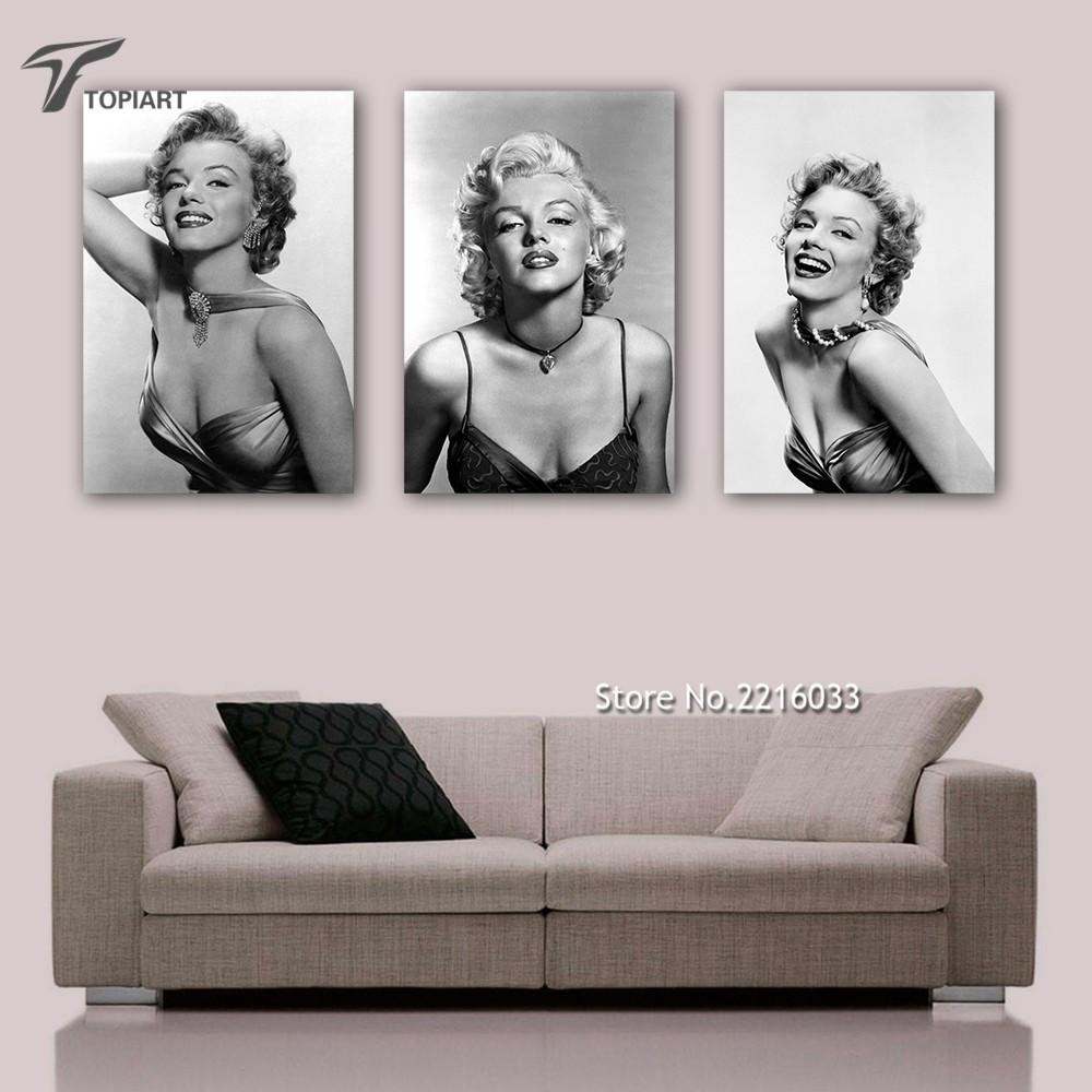 Online Get Cheap Marilyn Monroe Framed Photos Aliexpress Regarding Marilyn Monroe Framed Wall Art (View 11 of 20)