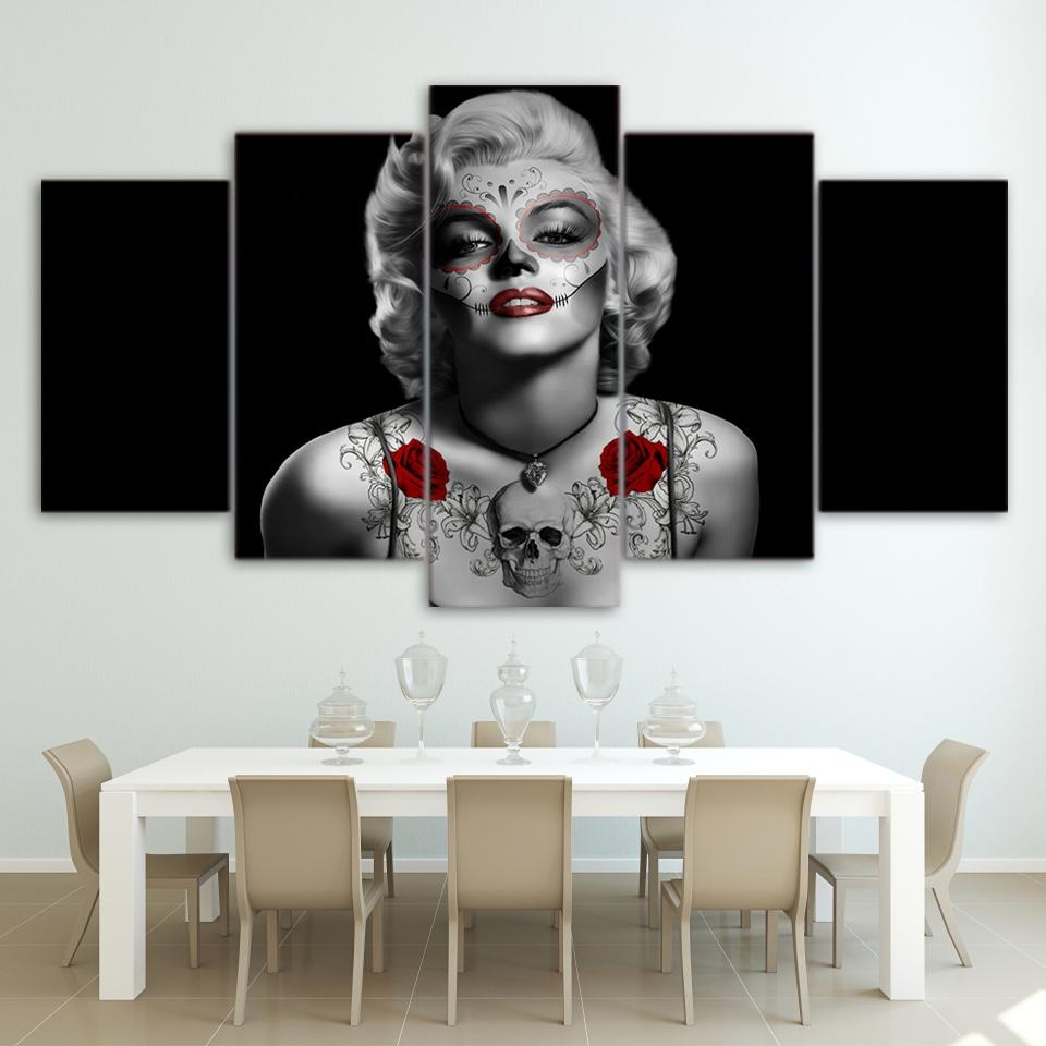 Online Get Cheap Marilyn Monroe Framed Pictures Aliexpress Inside Marilyn Monroe Framed Wall Art (View 8 of 20)