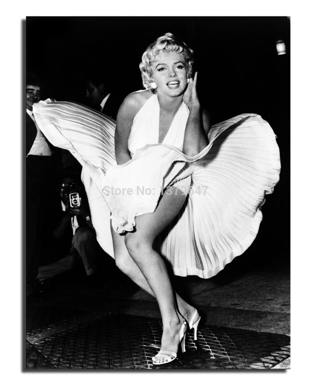 Online Get Cheap Marilyn Monroe Room Aliexpress | Alibaba Group With Regard To Marilyn Monroe Framed Wall Art (View 6 of 20)