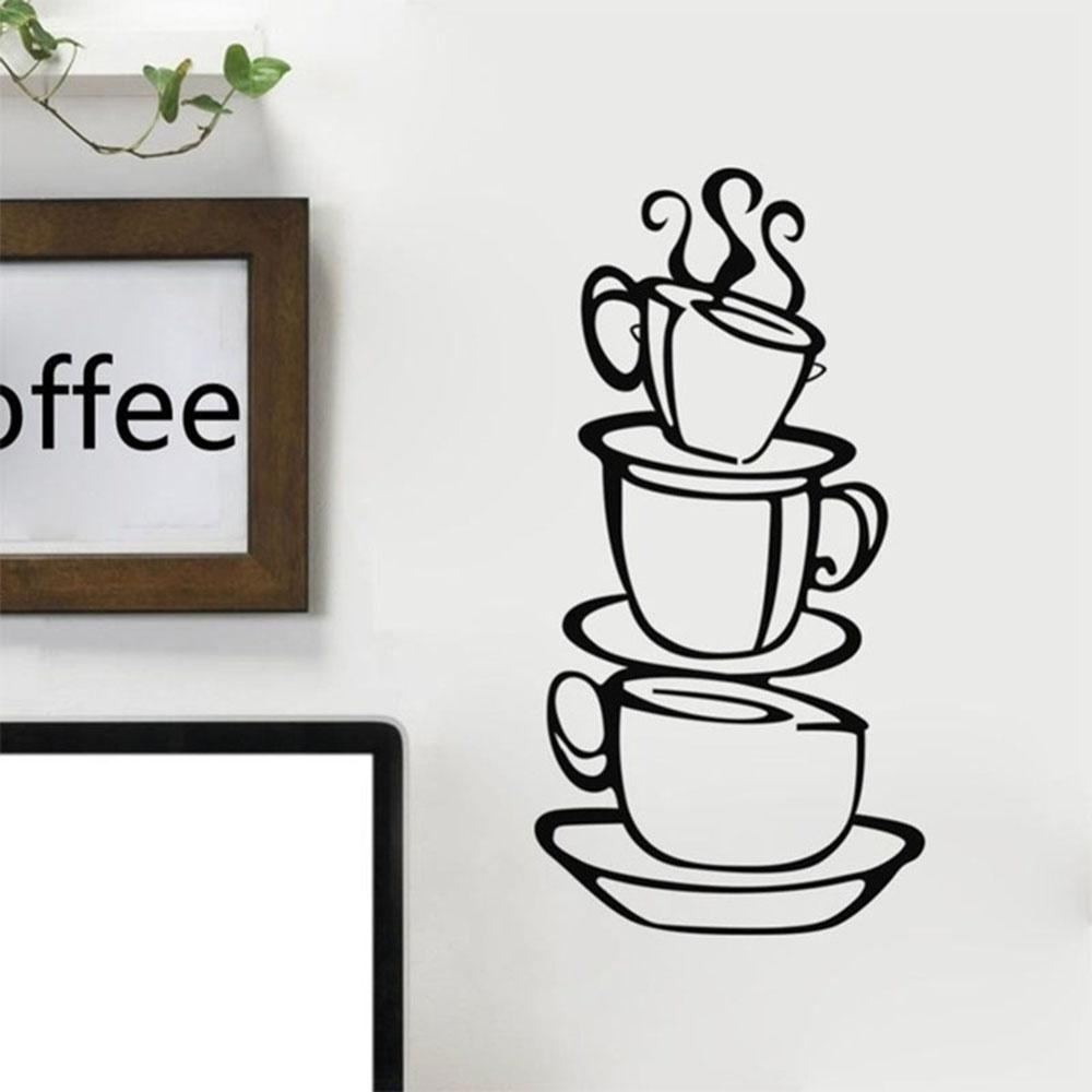 Online Get Cheap Metal Coffee Cup Wall Decor Aliexpress Regarding Metal Coffee Cup Wall Art (View 3 of 20)