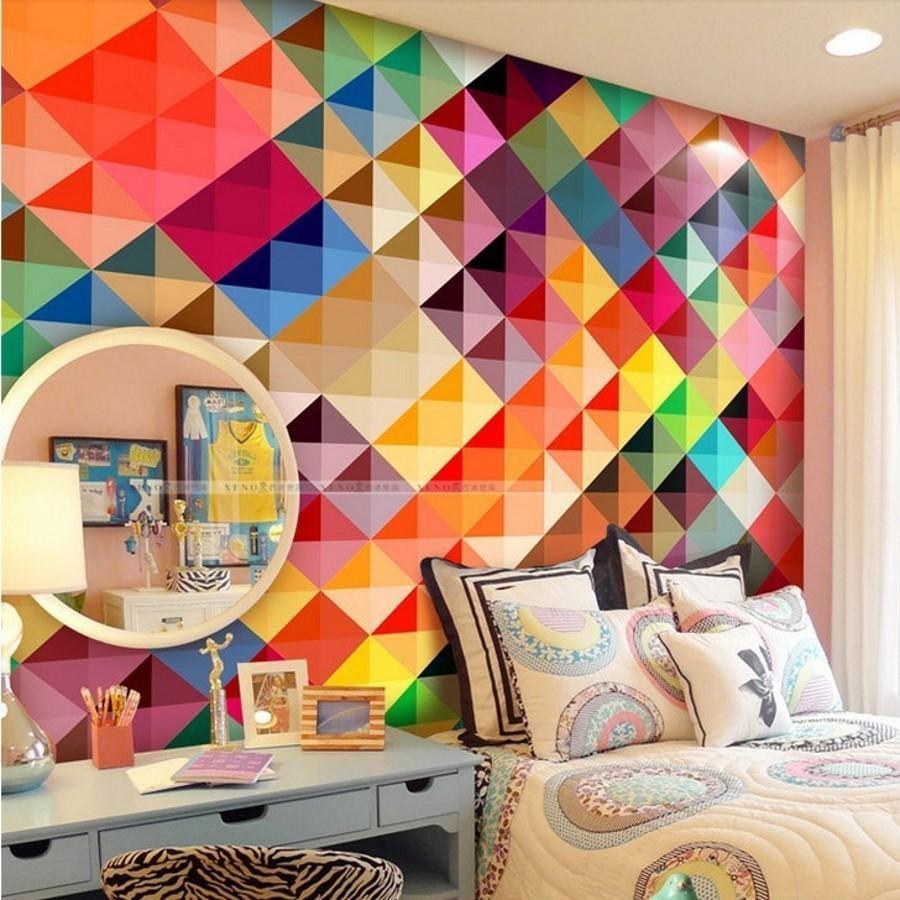 Online Get Cheap Modern Art Wallpaper Aliexpress | Alibaba Group With Regard To Pop Art Wallpaper For Walls (View 2 of 20)