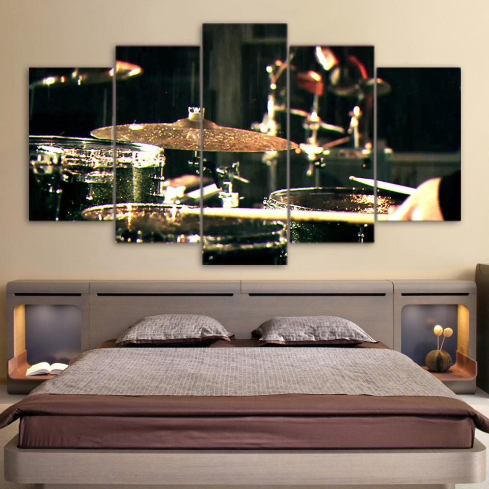 Online Get Cheap Musical Instruments Art Aliexpress | Alibaba In Musical Instrument Wall Art (View 9 of 20)