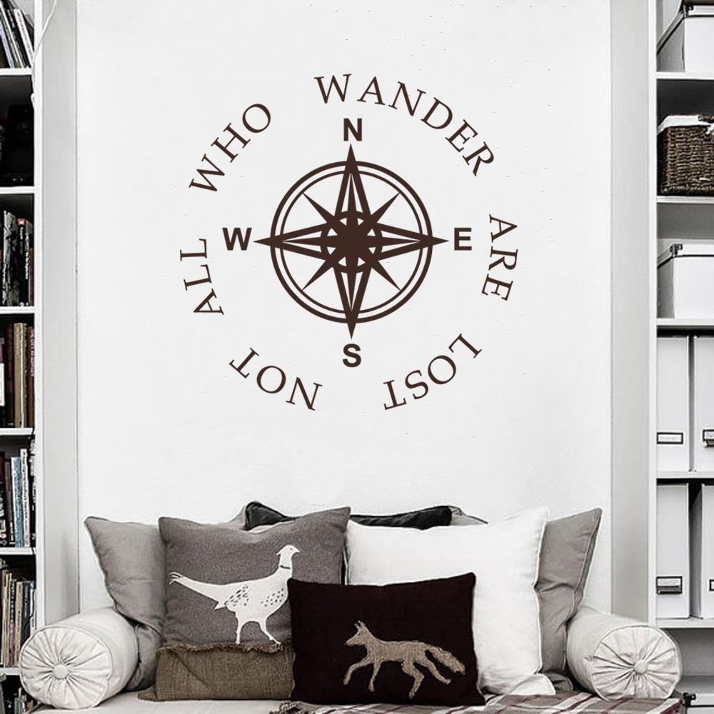 Online Get Cheap Nautical Wall Decals Quotes  Aliexpress Intended For Classroom Vinyl Wall Art (Image 13 of 20)