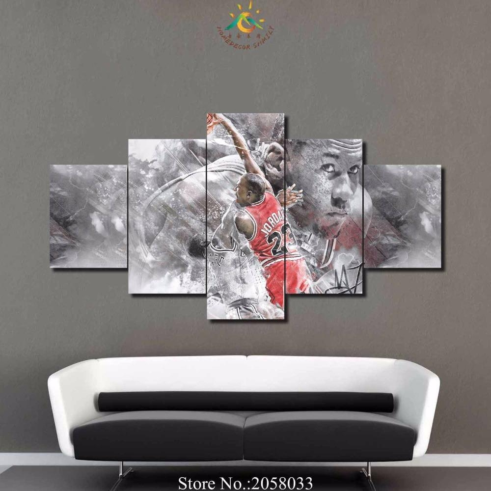 Online Get Cheap Nba Live  Aliexpress | Alibaba Group Intended For Nba Wall Murals (Image 14 of 20)