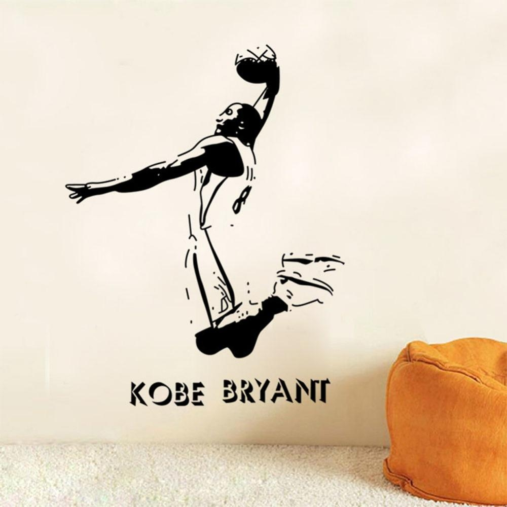 Online Get Cheap Nba Wall Stickers  Aliexpress | Alibaba Group With Regard To Nba Wall Murals (Image 16 of 20)