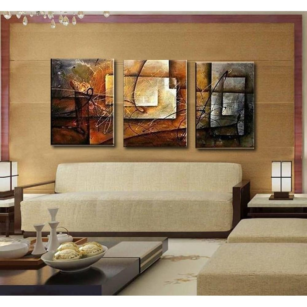 Online Get Cheap Oil Painting Set Aliexpress | Alibaba Group Within Wall Art Sets For Living Room (View 9 of 20)