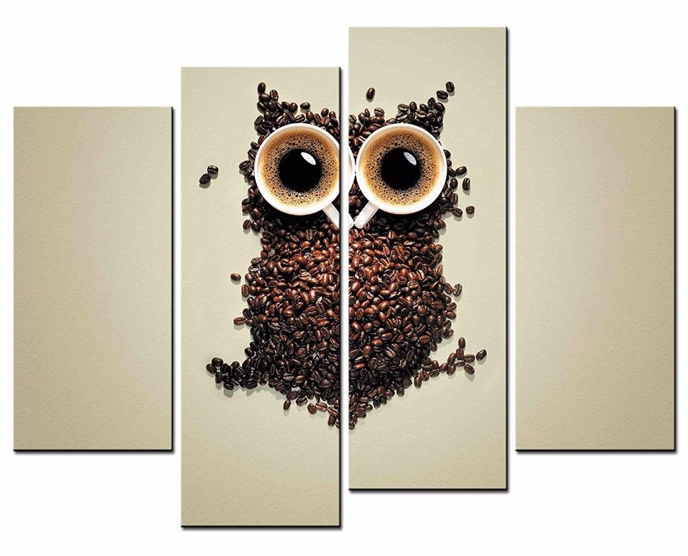 Online Get Cheap Owl Canvas Prints Aliexpress | Alibaba Group For Owl Framed Wall Art (View 7 of 20)