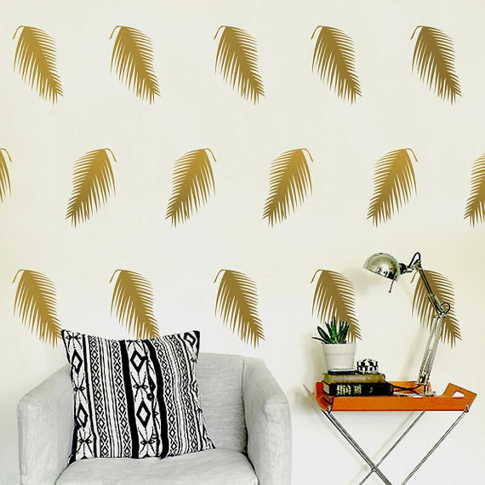 Online Get Cheap Palm Leaf Wall  Aliexpress   Alibaba Group Intended For Palm Leaf Wall Decor (Image 12 of 20)