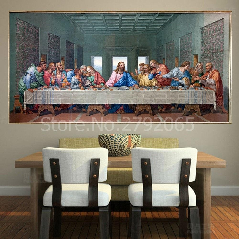 Online Get Cheap Picture Of The Last Supper Wall Picture In The Last Supper Wall Art (Image 15 of 20)