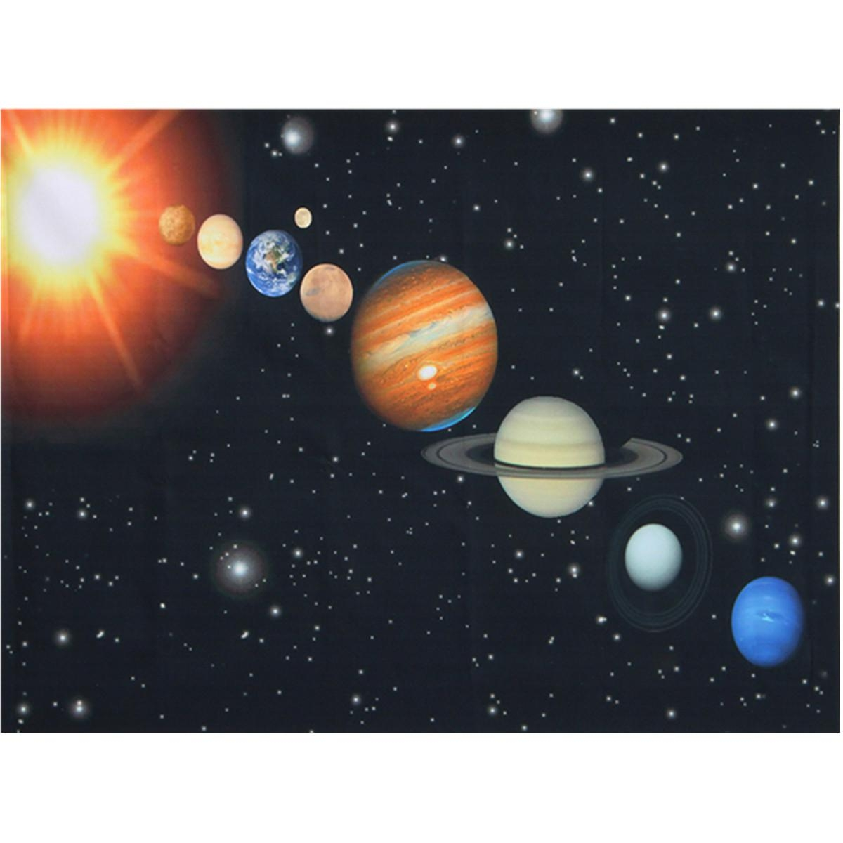 Online Get Cheap Pictures Solar System  Aliexpress | Alibaba Group For Solar System Wall Art (Image 5 of 20)
