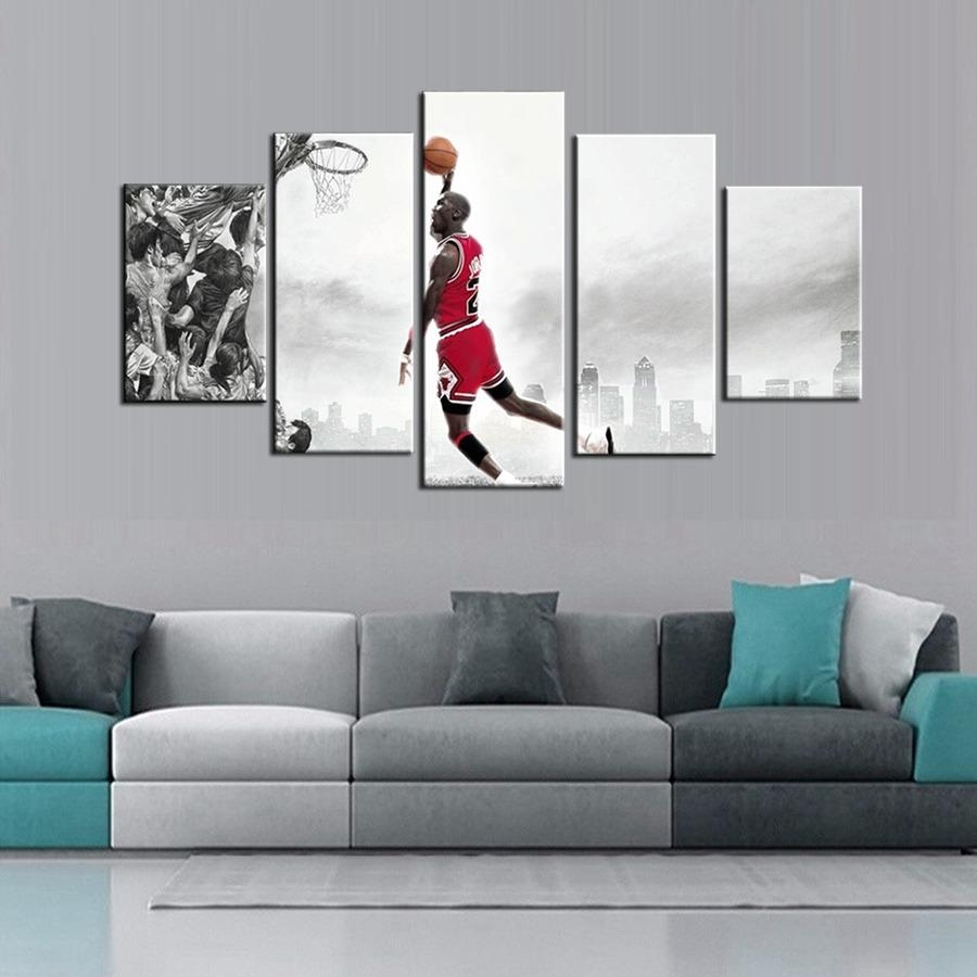 Online Get Cheap Posters And Prints Nba  Aliexpress | Alibaba Within Nba Wall Murals (Image 18 of 20)