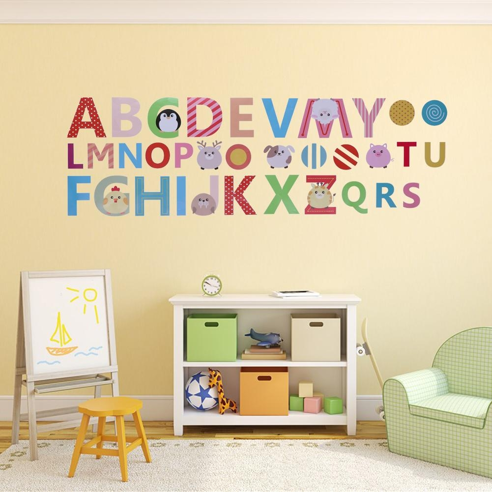 Wall Art Ideas: Preschool Wall Decoration (Explore #5 of 20 Photos)