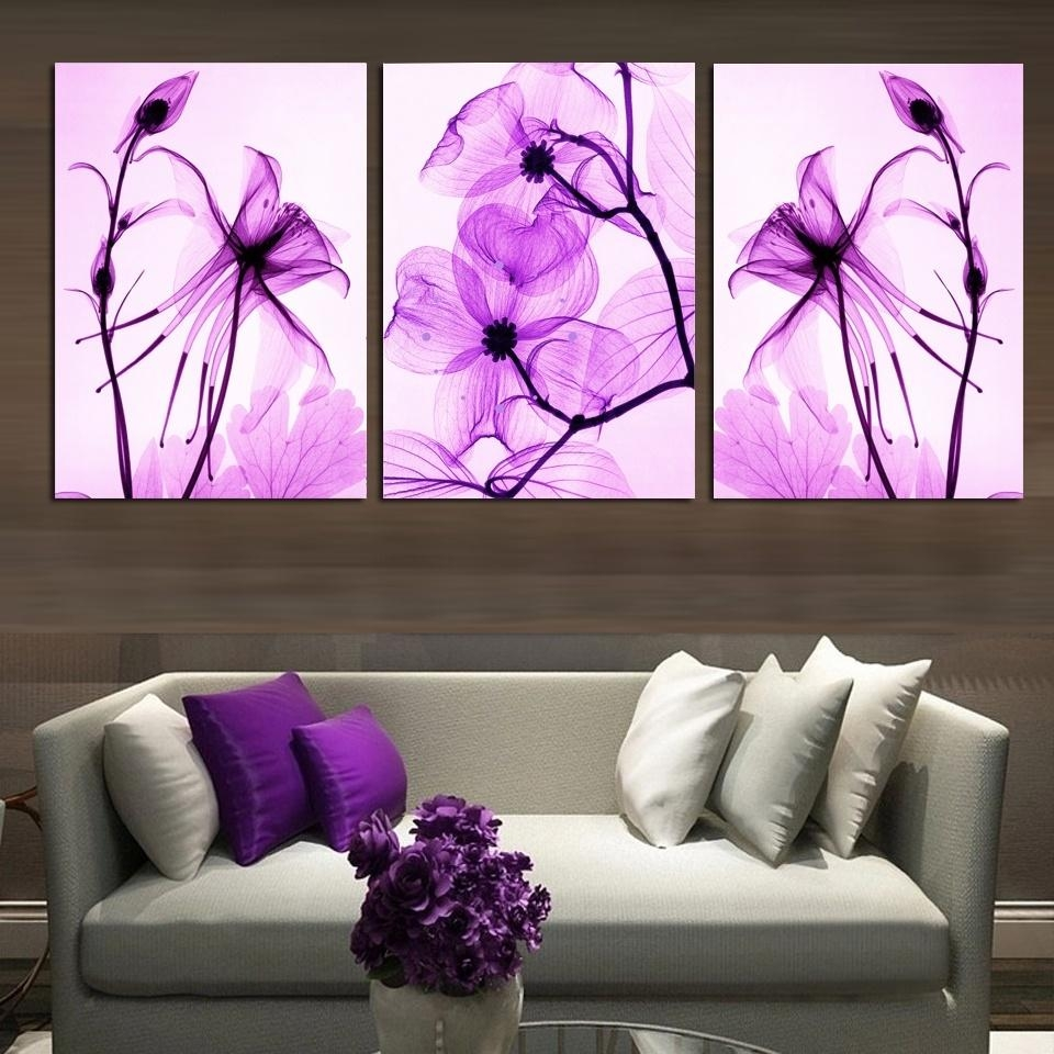 Online Get Cheap Purple Abstract Wall Art Canvas  Aliexpress Within Purple Abstract Wall Art (Image 9 of 20)