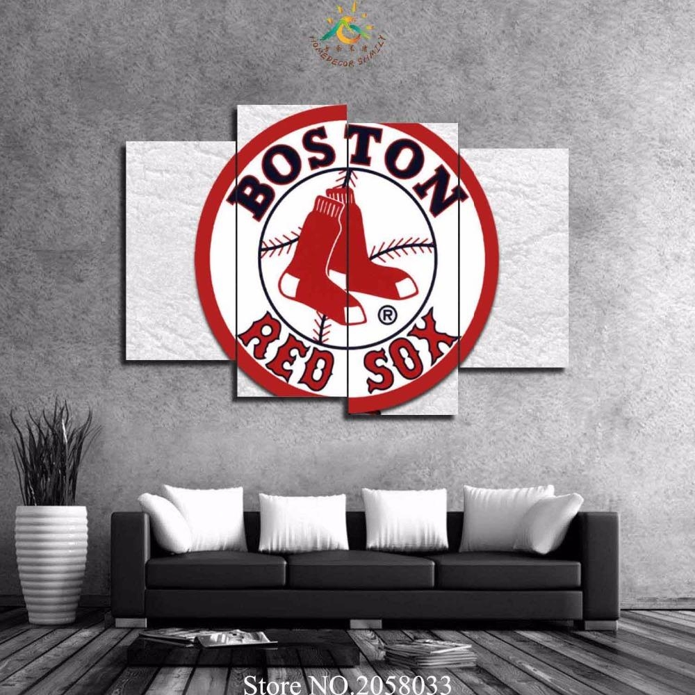 Online Get Cheap Red Sox Decor Aliexpress | Alibaba Group With Regard To Red Sox Wall Decals (View 10 of 20)