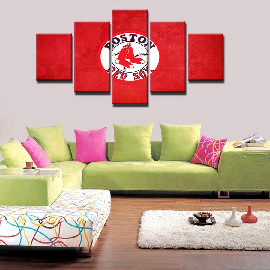 Online Get Cheap Red Sox Picture Aliexpress | Alibaba Group Within Boston Red Sox Wall Art (View 8 of 20)