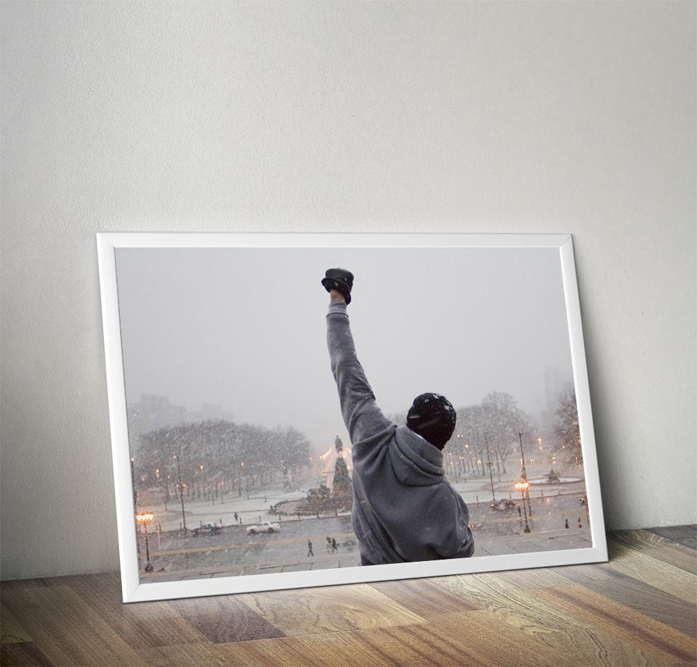 Online Get Cheap Rocky Balboa Art  Aliexpress | Alibaba Group Pertaining To Rocky Balboa Wall Art (Image 9 of 20)