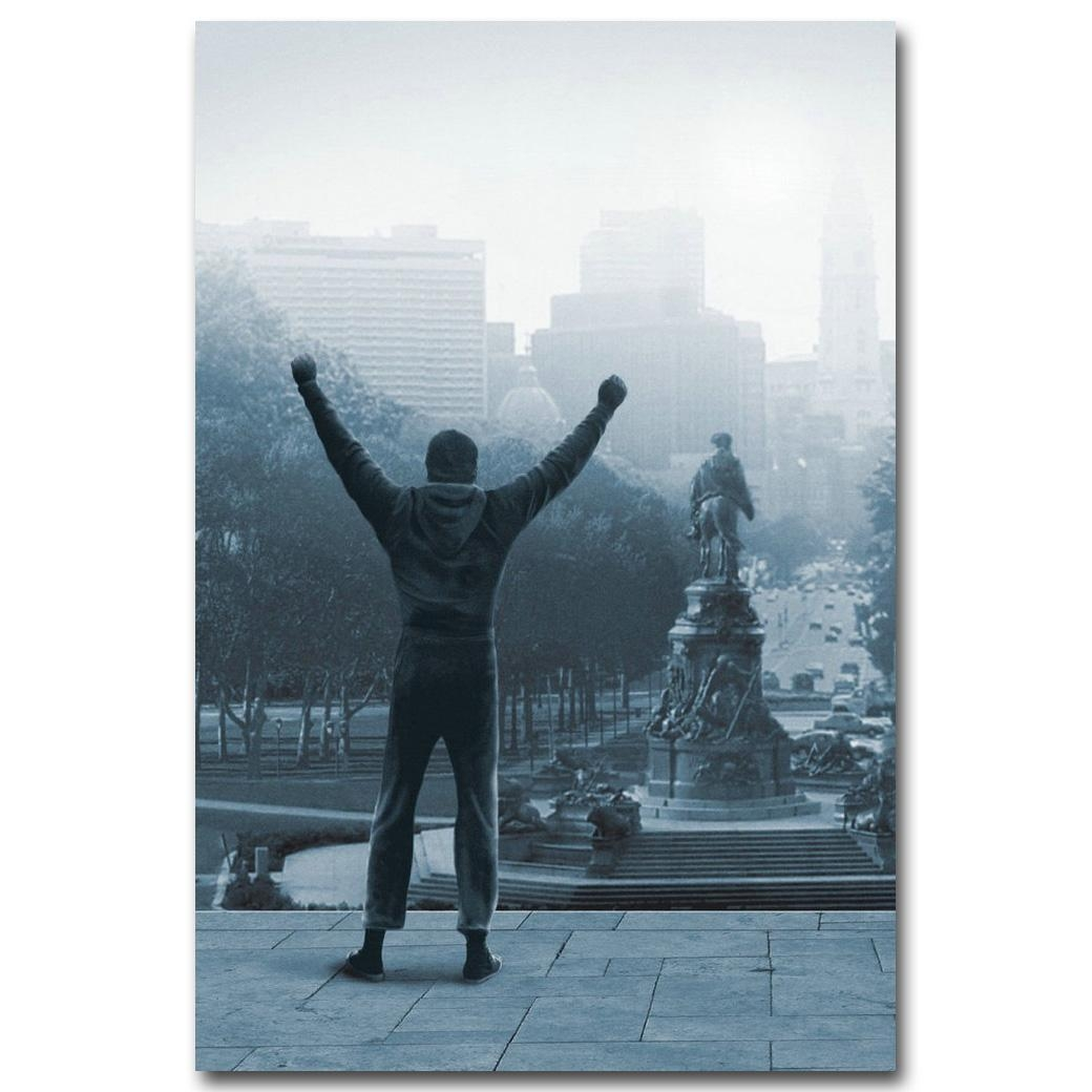 Online Get Cheap Rocky Balboa Art  Aliexpress | Alibaba Group Regarding Rocky Balboa Wall Art (Image 10 of 20)