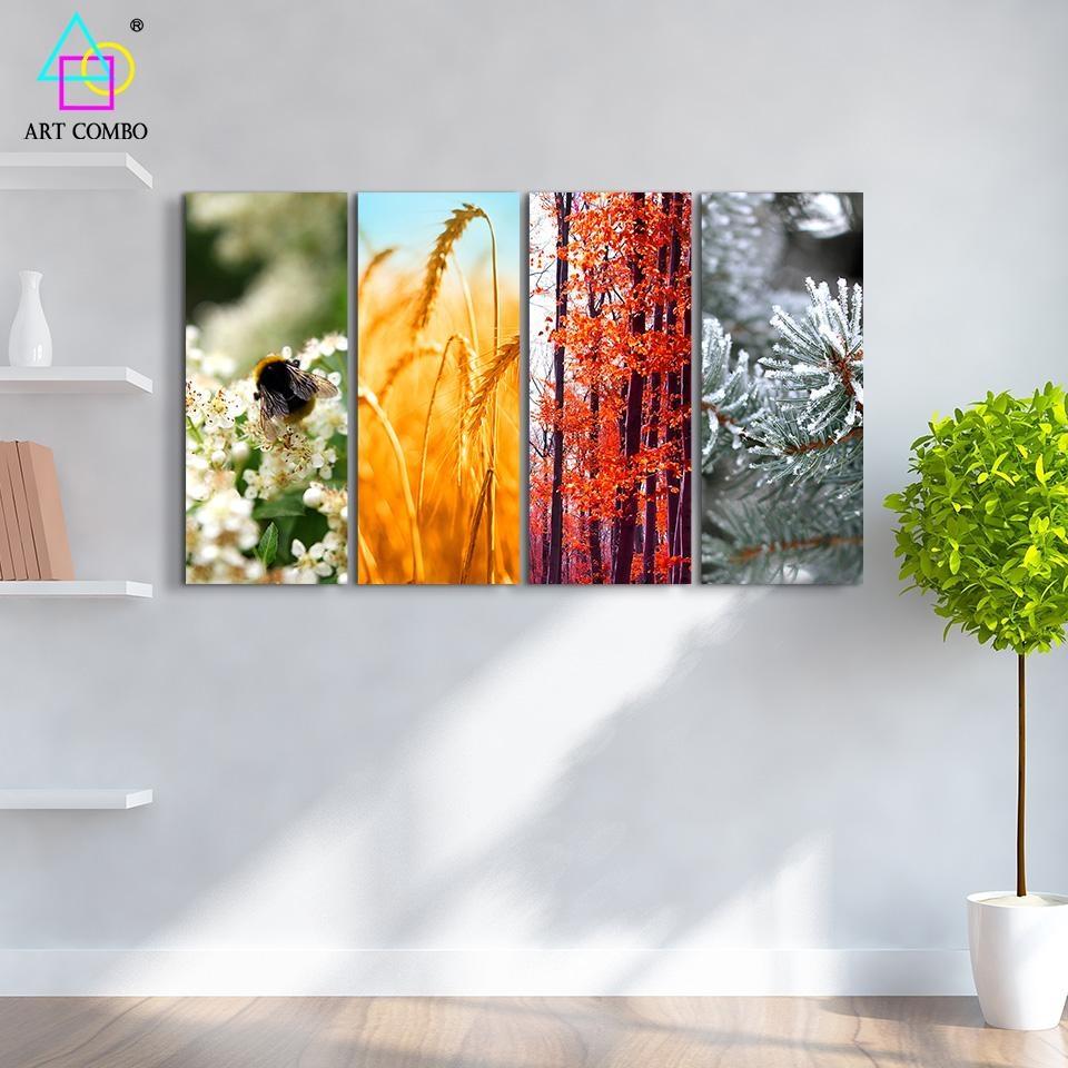 Online Get Cheap Seasonal Wall Art  Aliexpress | Alibaba Group With Seasonal Wall Art (Image 8 of 20)