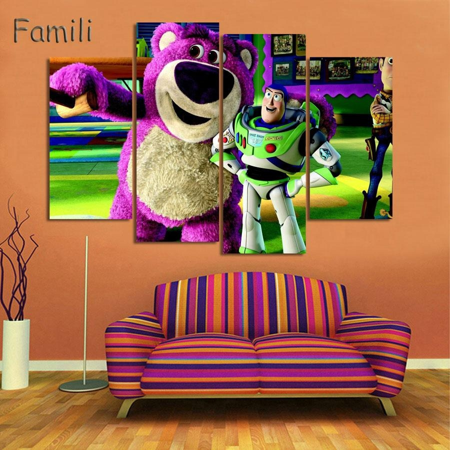 Online Get Cheap Toy Story Art  Aliexpress | Alibaba Group Intended For Toy Story Wall Art (Image 11 of 20)