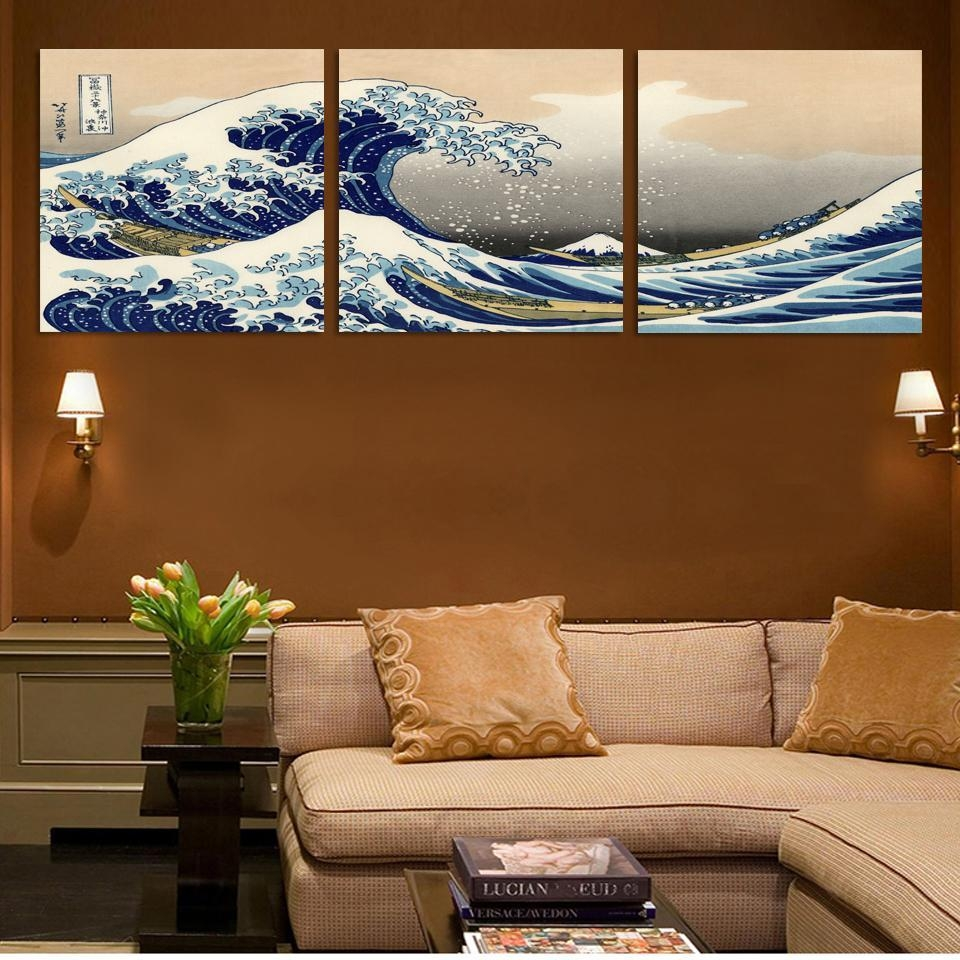 Online Get Cheap Traditional Japanese Art  Aliexpress Inside Japanese Wall Art Panels (Image 13 of 20)