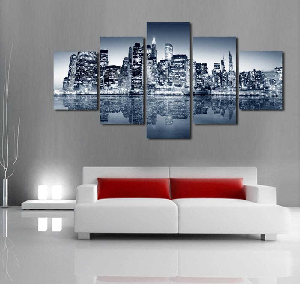 Online Get Cheap Urban Wall Art  Aliexpress | Alibaba Group Throughout Cheap Modern Wall Art (Image 15 of 20)