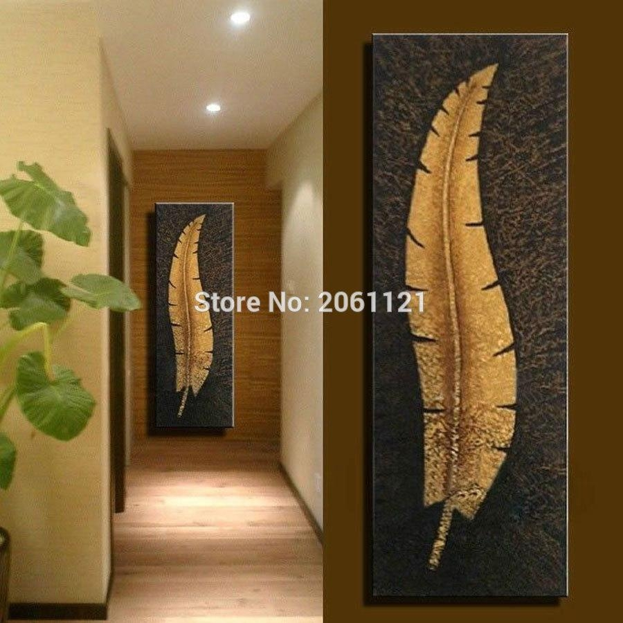 Online Get Cheap Vertical Canvas Art Aliexpress | Alibaba Group With Regard To Long Vertical Wall Art (View 5 of 20)
