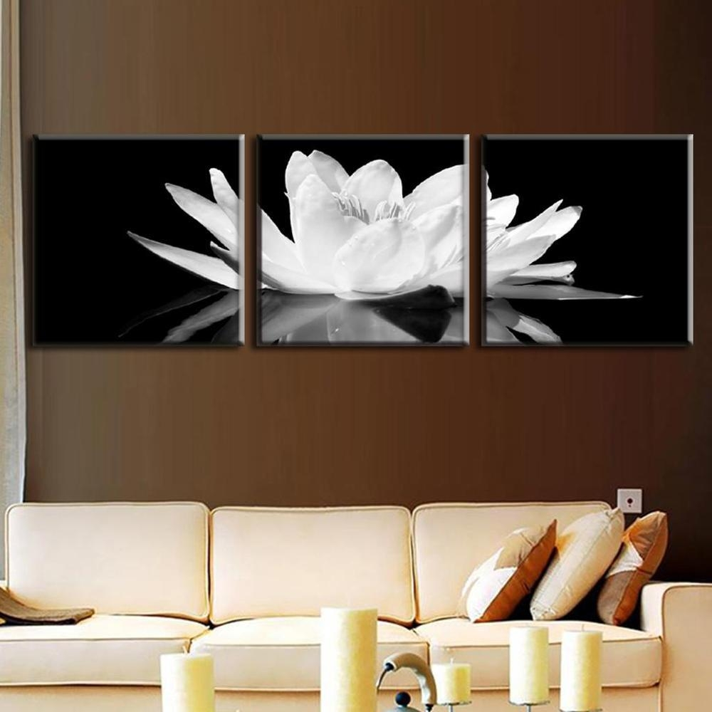 Online Get Cheap Wall Art Black  Aliexpress | Alibaba Group With Black And White Wall Art Sets (Image 13 of 20)