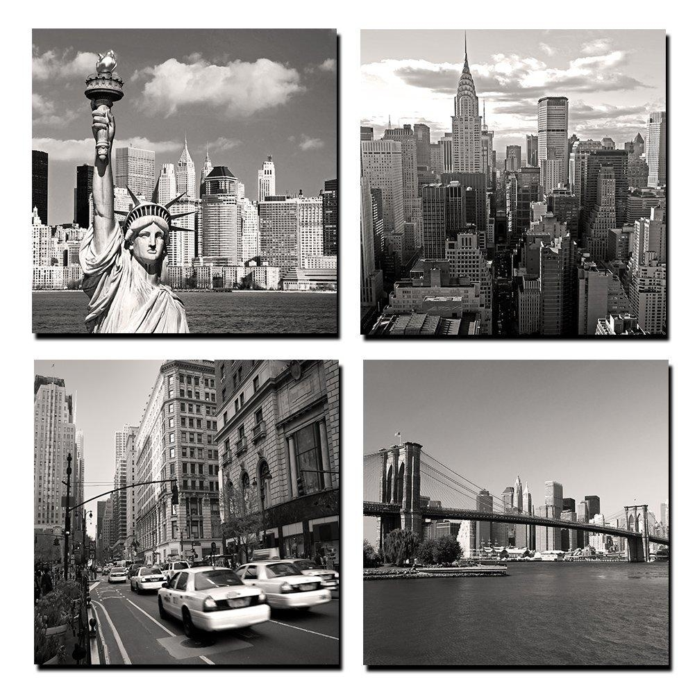 Online Get Cheap Wall Art Canvas Landmarks Aliexpress With New York City Canvas Wall Art (View 15 of 20)
