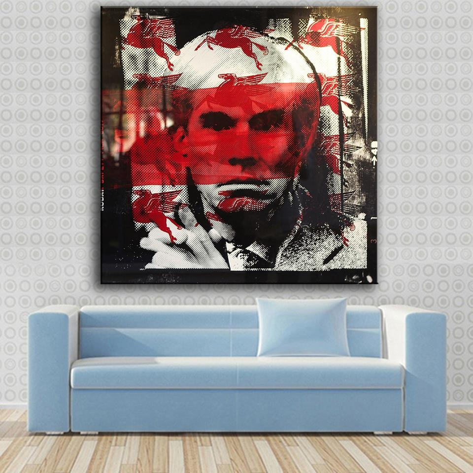 Online Get Cheap Wall Art Red Black Large  Aliexpress Throughout Large Cheap Wall Art (Image 14 of 20)