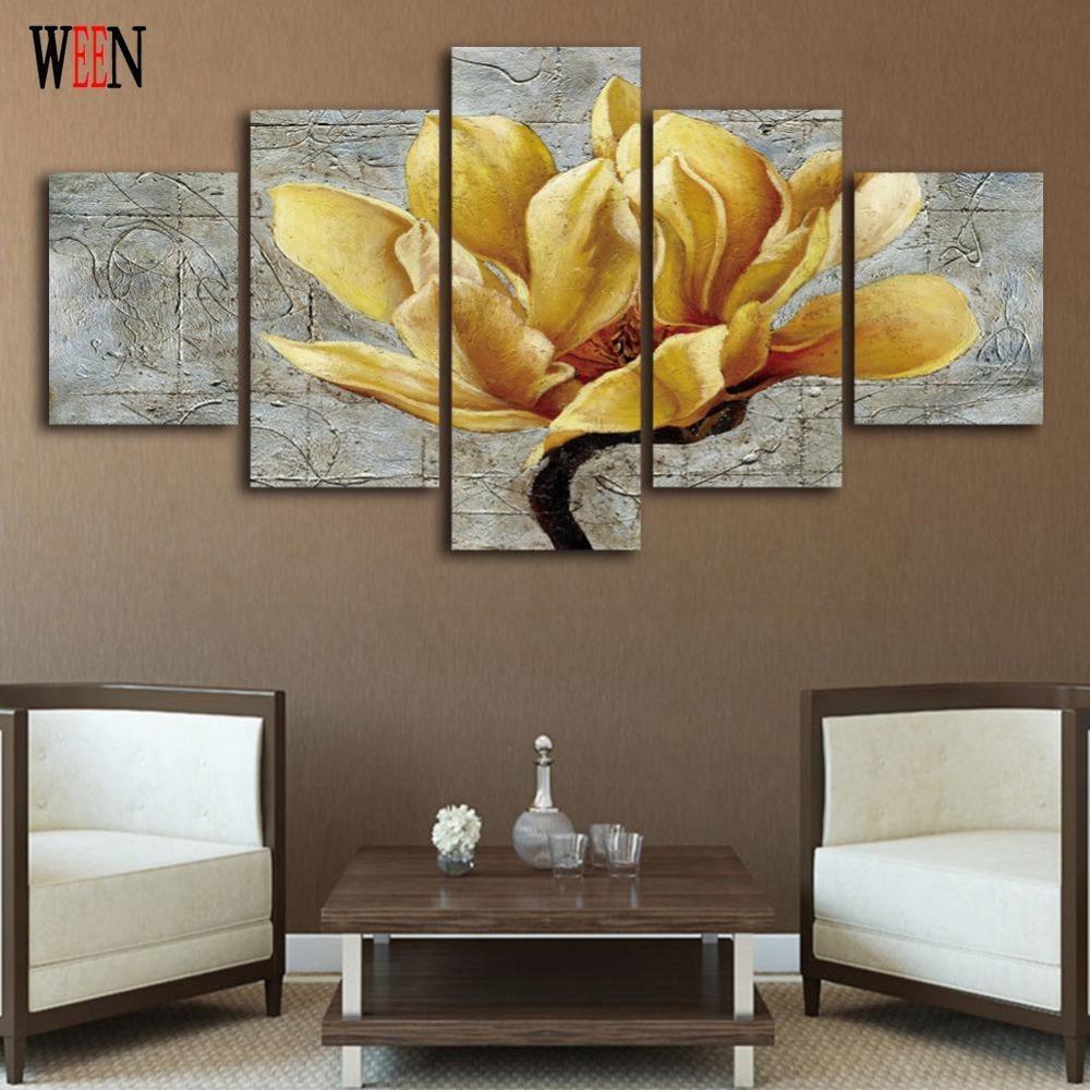 Online Get Cheap Wall Canvas Art Sets  Aliexpress | Alibaba Group Regarding Cheap Wall Art Sets (Image 9 of 20)