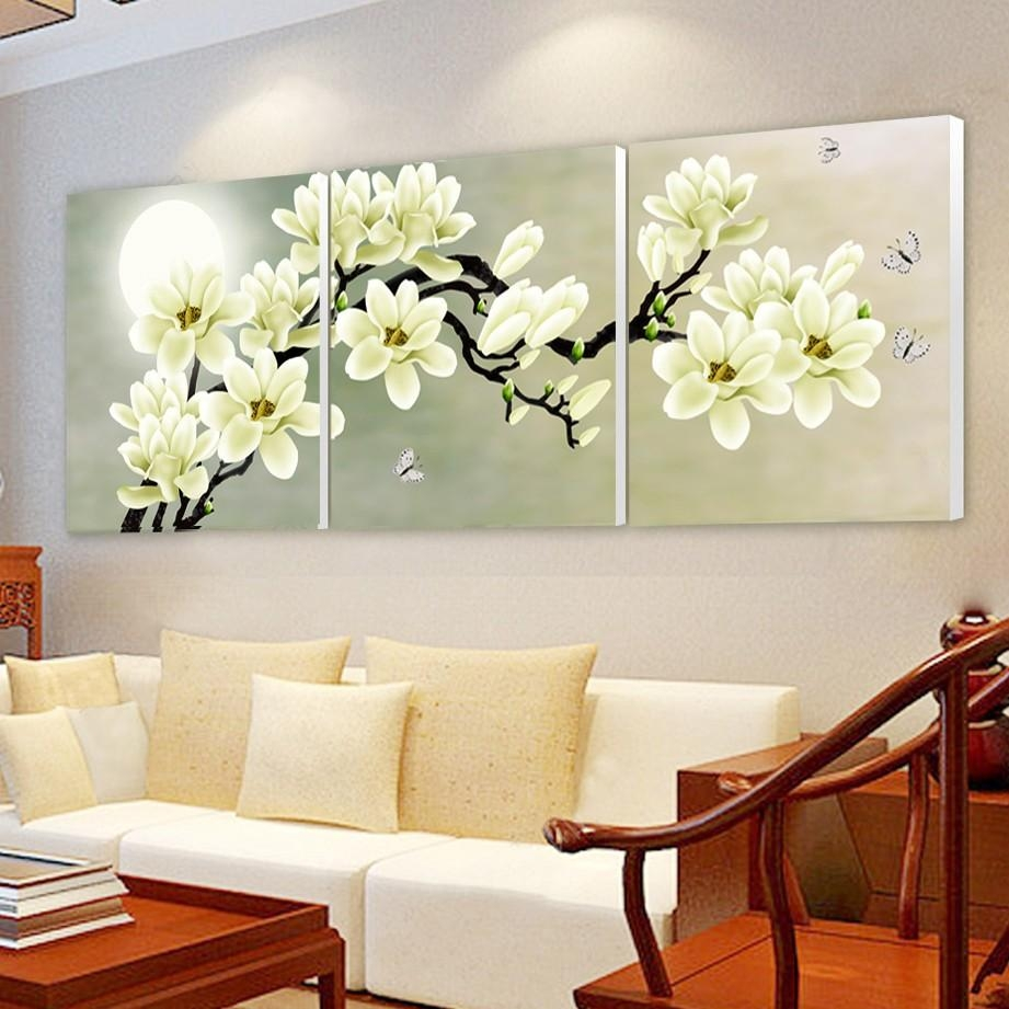 Online Get Cheap Wall Orchid Aliexpress | Alibaba Group In Modular Wall Art (View 14 of 20)