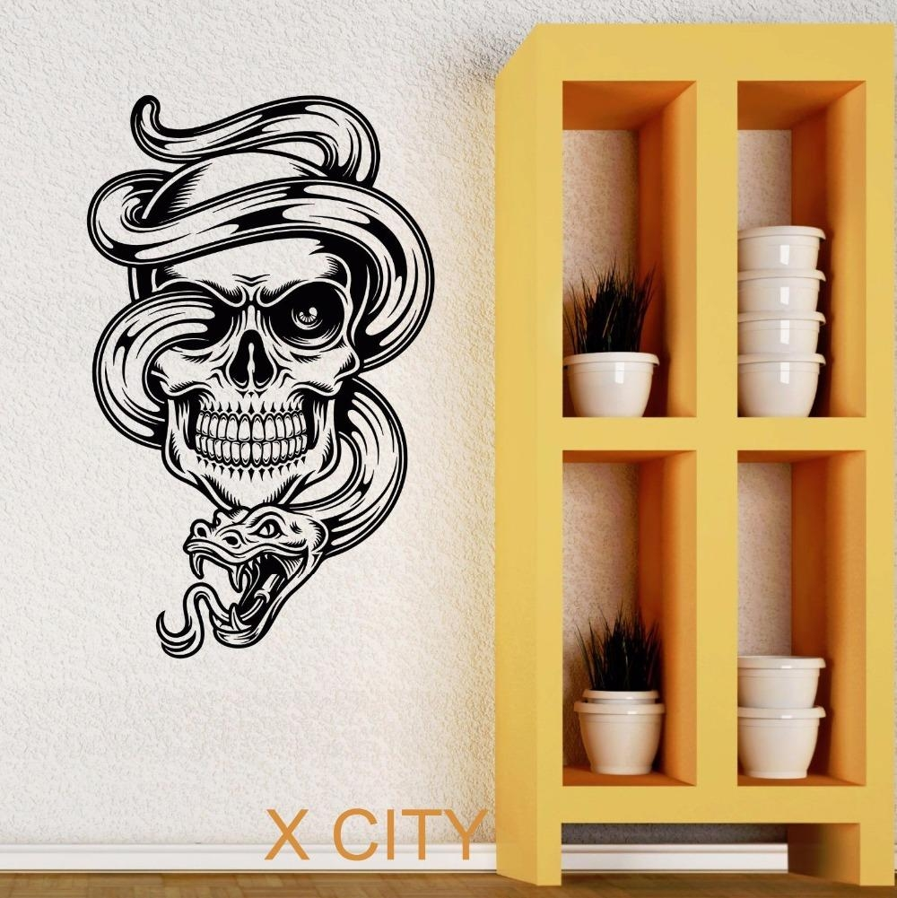 Funky Tattoo Shop Wall Decor Crest - Gallery Wall Art - factografia.com