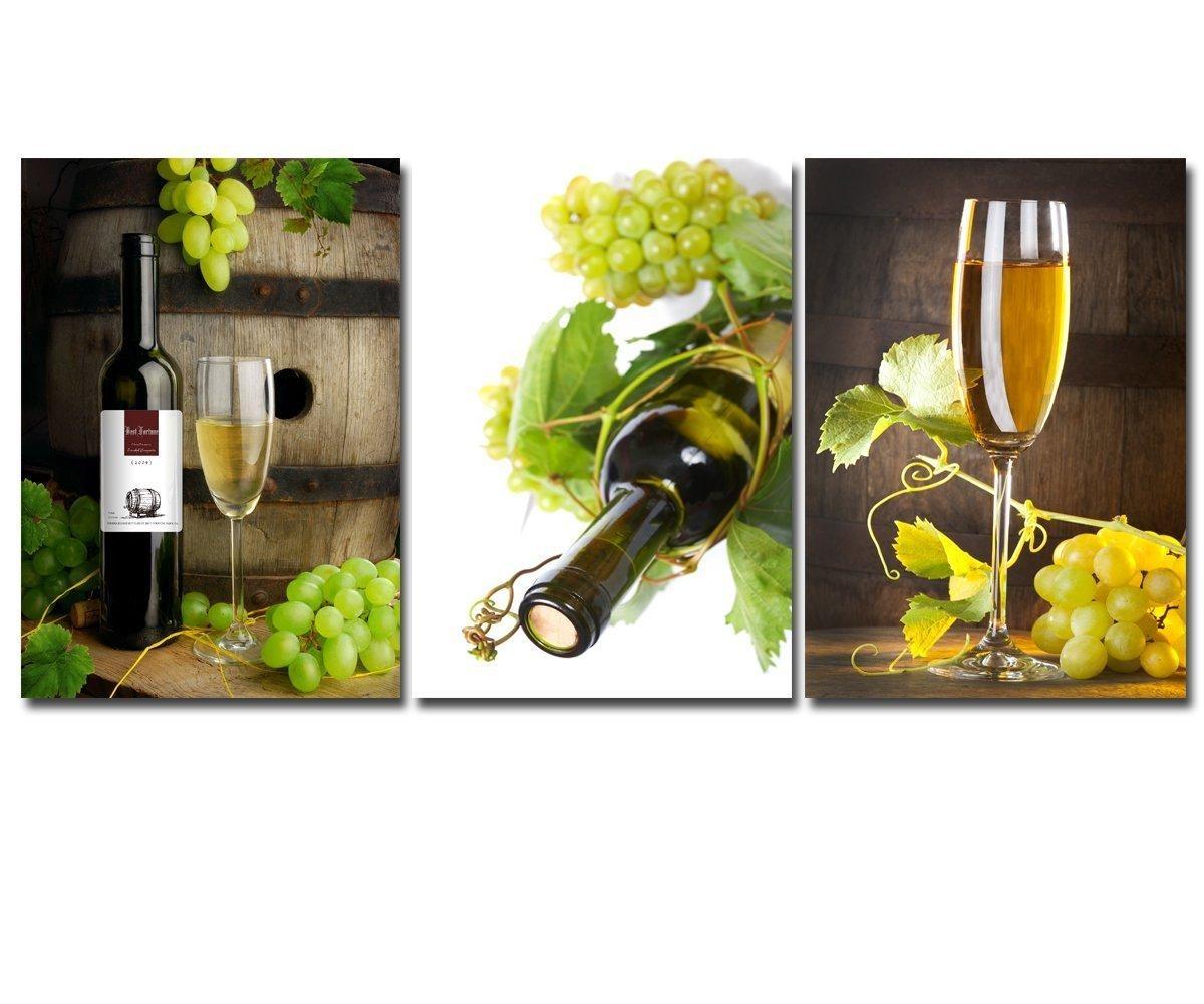 Online Get Cheap Wine Glass Wall Art Aliexpress   Alibaba Group Throughout Grape Wall Art (View 16 of 20)