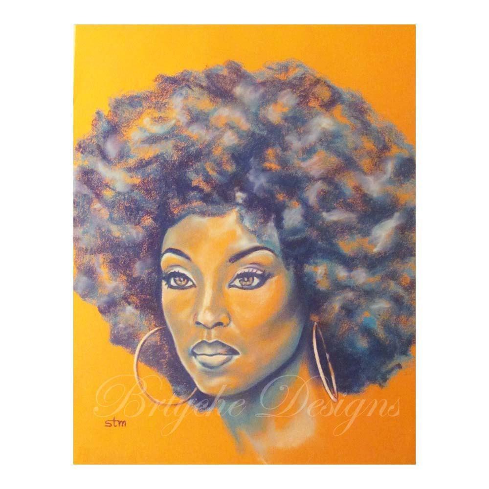 Orange Is The New Black African American Art Wall Art Art Inside African American Wall Art (View 10 of 20)