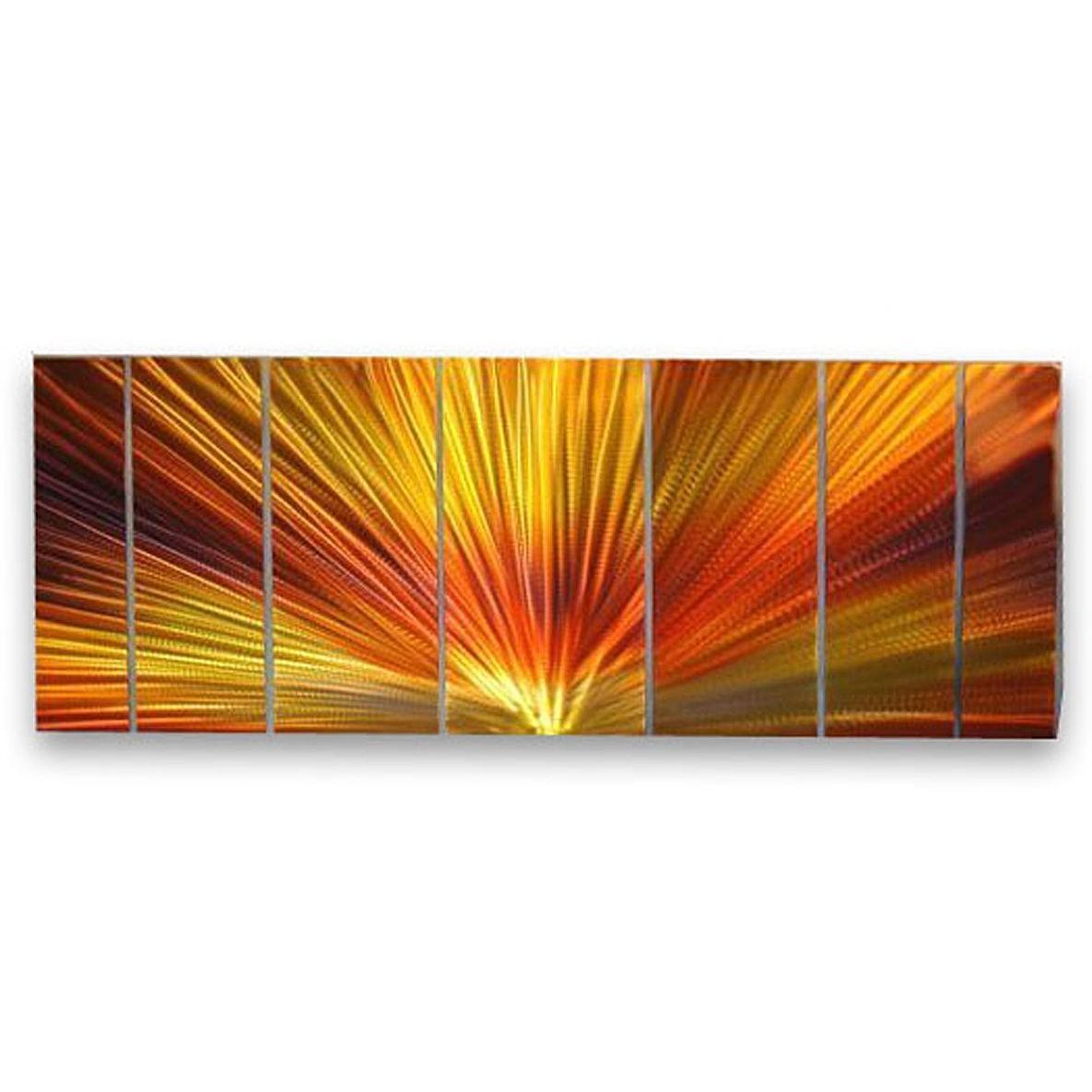 Orange Wall Art   Roselawnlutheran Within Ash Carl Metal Wall Art (Image 14 of 20)