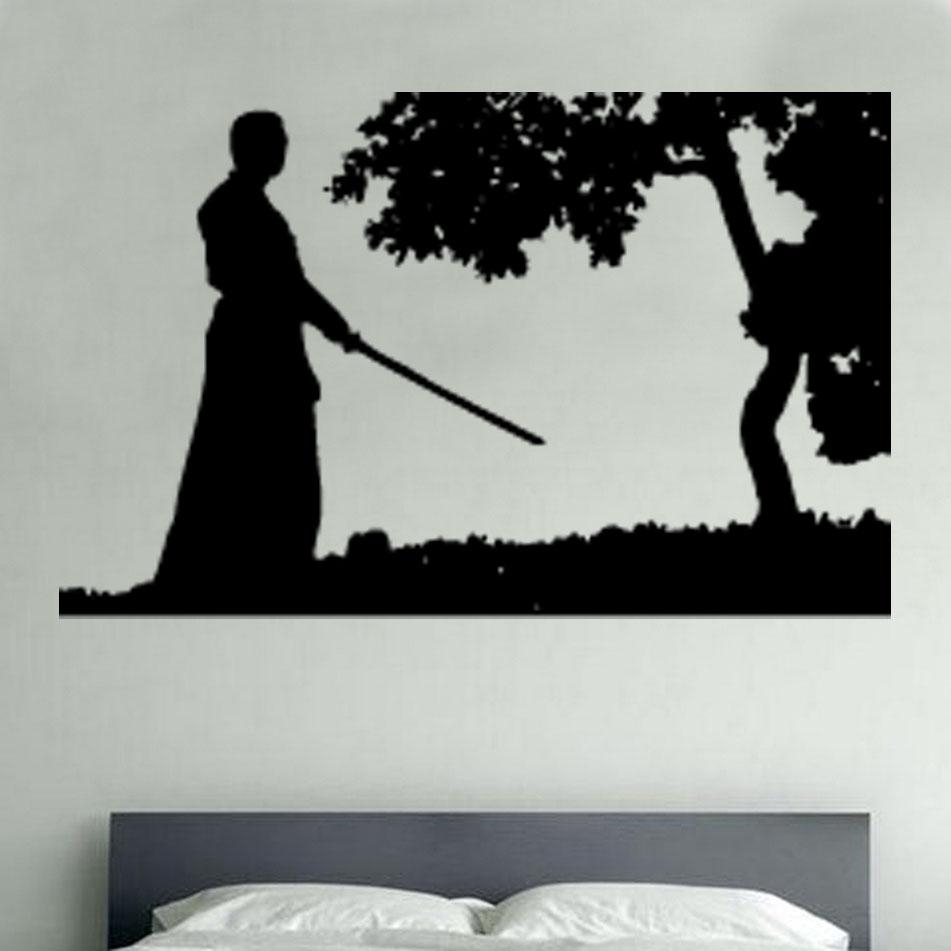 Orental Vinyl Wall Art » Shop » Home Throughout Samurai Wall Art (View 5 of 20)